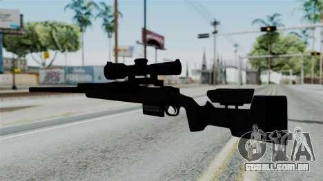 TAC-300 Sniper Rifle v2 para GTA San Andreas segunda tela