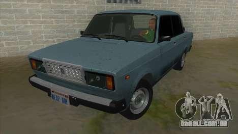VAZ 2107 v1 para GTA San Andreas