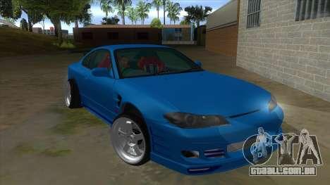 Nissan Silvia S15 326 Power para GTA San Andreas vista traseira