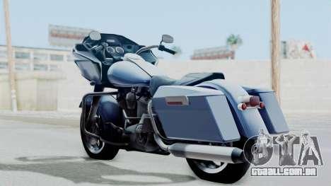 Harley-Davidson Road Glide para GTA San Andreas esquerda vista