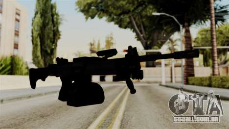 IMI Negev NG-7 Stanag Magazine para GTA San Andreas segunda tela