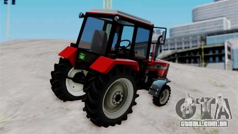 IMT Traktor para GTA San Andreas esquerda vista