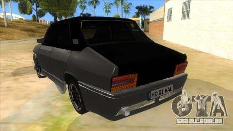 Dacia 1310 Tunata para GTA San Andreas traseira esquerda vista