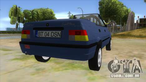 Dacia SuperNova para GTA San Andreas vista direita
