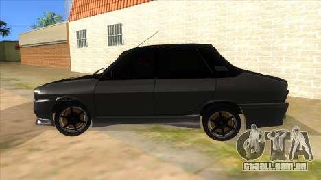 Dacia 1310 Tunata para GTA San Andreas esquerda vista