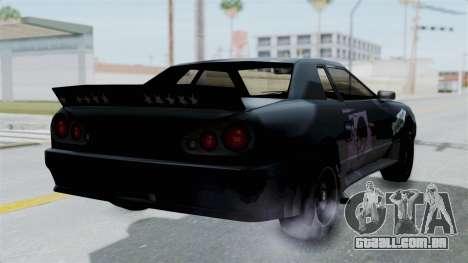 Hotring Elegy para GTA San Andreas esquerda vista