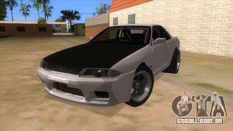 Nissan Skyline R32 Drag para GTA San Andreas