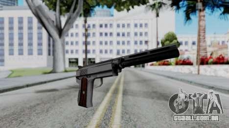 Vice City Beta Silver Colt 1911 para GTA San Andreas segunda tela