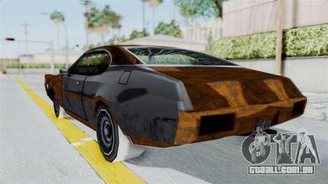 Updated-Clover para GTA San Andreas esquerda vista