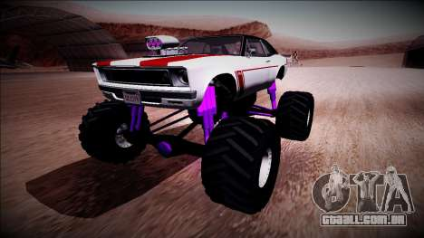 GTA 5 Declasse Tampa Monster Truck para GTA San Andreas