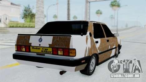 Tofas Dogan Modified para GTA San Andreas esquerda vista