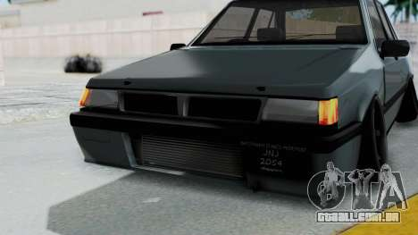 Proton Iswara Stance Build para GTA San Andreas vista superior