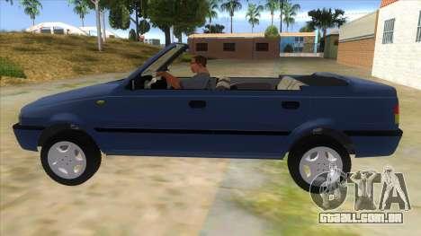 Dacia SuperNova para GTA San Andreas esquerda vista