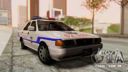 Nissan Sentra B13 2004 Patrol with a Salvadoran v1.0 para GTA San Andreas