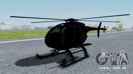 MH-9 Hummingbird Recon para GTA San Andreas