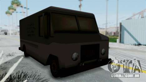 Boxville from Manhunt para GTA San Andreas vista direita
