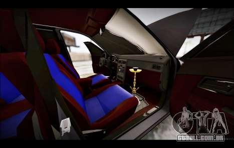 Lada Priora Bpan Version para vista lateral GTA San Andreas