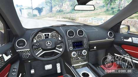 Mercedes-Benz ML63 (W164) Brabus 2009 para GTA 5