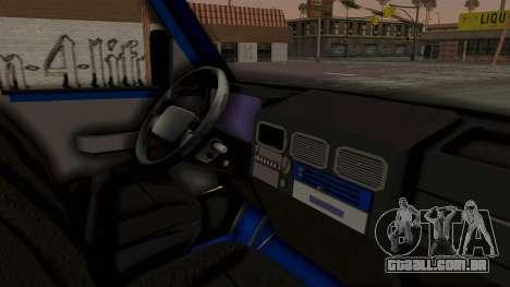 Zastava Rival Ice Cream Truck para GTA San Andreas vista direita