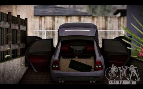 Lada Priora Bpan Version para GTA San Andreas vista traseira