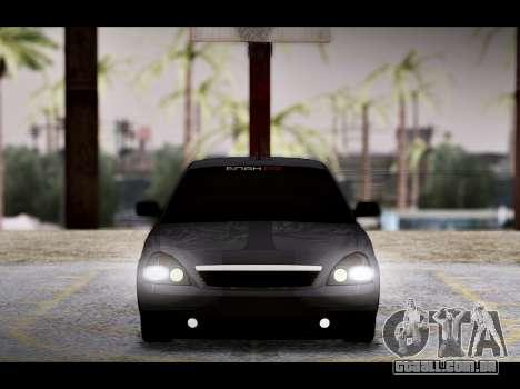 Lada Priora Bpan Version para GTA San Andreas vista inferior