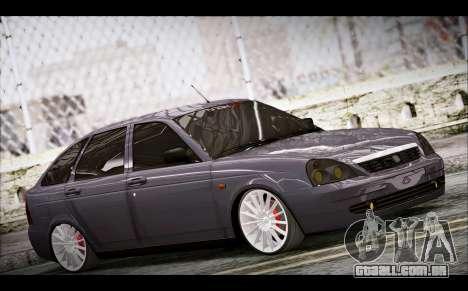 Lada Priora Bpan Version para GTA San Andreas