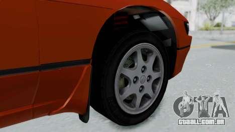 Nissan Sileighty - Stock para GTA San Andreas traseira esquerda vista