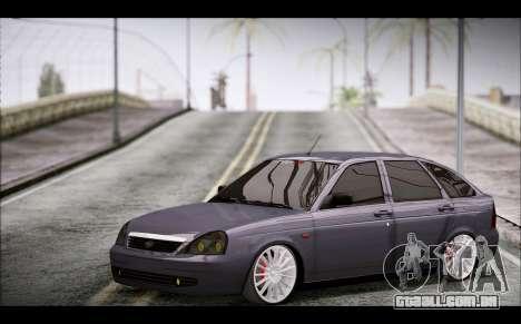 Lada Priora Bpan Version para GTA San Andreas vista direita