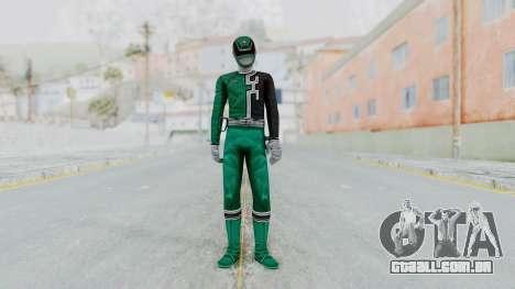 Power Rangers S.P.D - Green para GTA San Andreas segunda tela