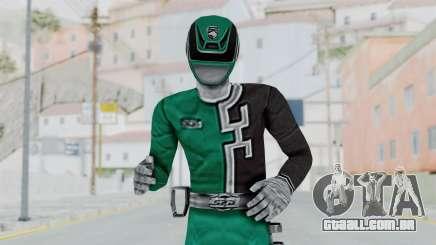 Power Rangers S.P.D - Green para GTA San Andreas