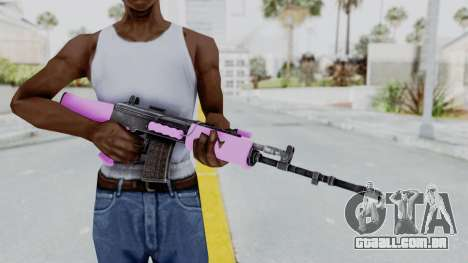 IOFB INSAS Light Pink para GTA San Andreas terceira tela