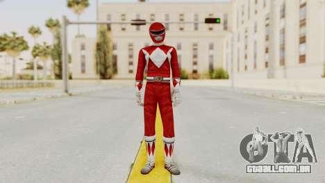 Mighty Morphin Power Rangers - Red para GTA San Andreas segunda tela