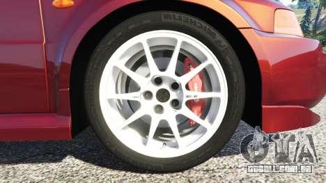 GTA 5 Mitsubishi Lancer GSR Evolution VI 1999 volante