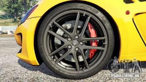 GTA 5 Maserati GranTurismo MC Stradale volante