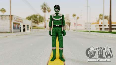 Power Rangers Time Force - Green para GTA San Andreas segunda tela