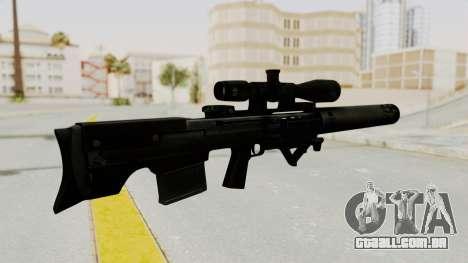VKS Sniper Rifle para GTA San Andreas segunda tela