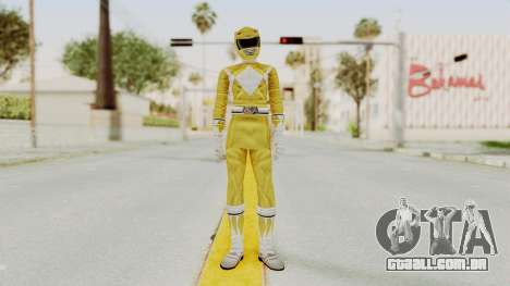 Mighty Morphin Power Rangers - Yellow para GTA San Andreas segunda tela