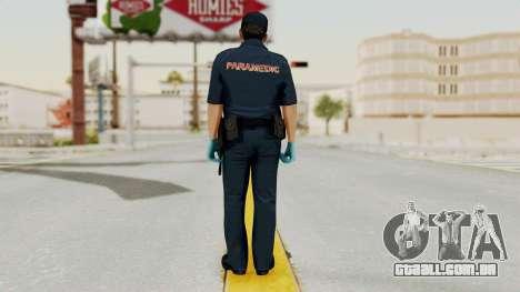 GTA 5 Paramedic LV para GTA San Andreas terceira tela
