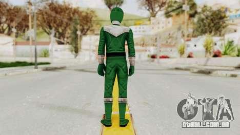 Power Rangers Time Force - Green para GTA San Andreas terceira tela
