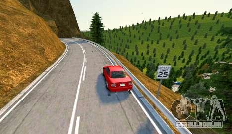 Kagarasan Pista para GTA 4 quinto tela