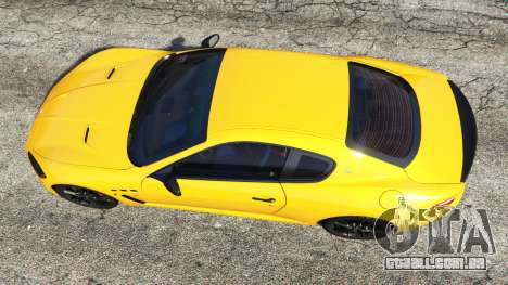 GTA 5 Maserati GranTurismo MC Stradale voltar vista
