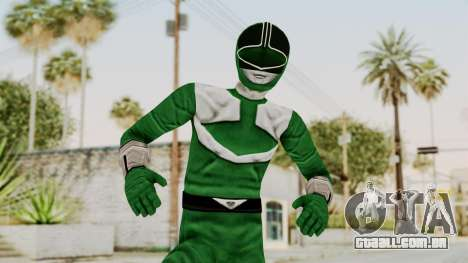 Power Rangers Time Force - Green para GTA San Andreas