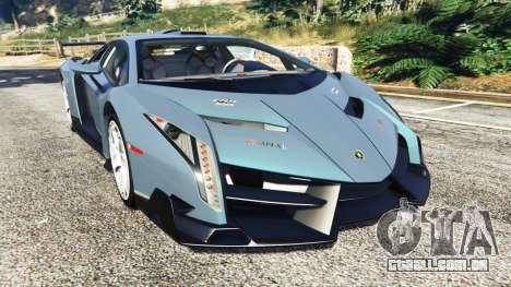 Lamborghini Veneno 2013 para GTA 5