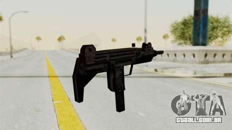 Liberty City Stories Uzi para GTA San Andreas terceira tela