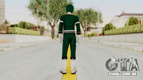 Power Rangers Turbo - Green para GTA San Andreas terceira tela
