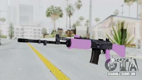 IOFB INSAS Light Pink para GTA San Andreas