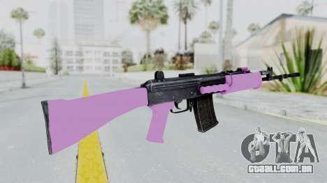 IOFB INSAS Light Pink para GTA San Andreas segunda tela