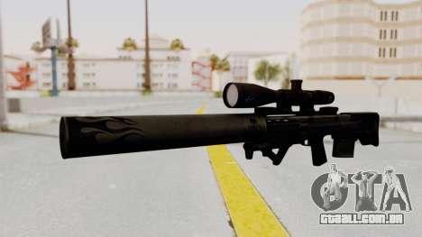 VKS Sniper Rifle para GTA San Andreas