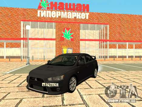 Mitsubishi Lancer Evolution X GVR Tuning para GTA San Andreas