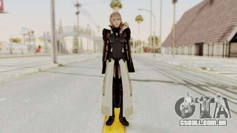 LRFFXIII Lightning Equilibrium Garb v2 para GTA San Andreas segunda tela